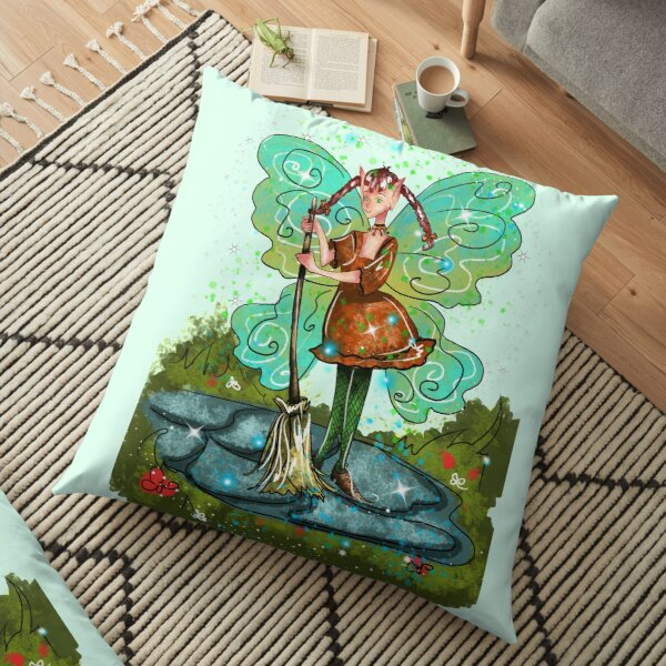 Patsy Pip The Lantern And Pathway Fairy™ Floor Pillow