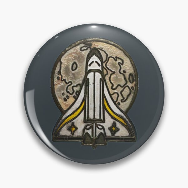 Ellie's Spaceship Pin from Joel | The Last of Us Part 2 Pin