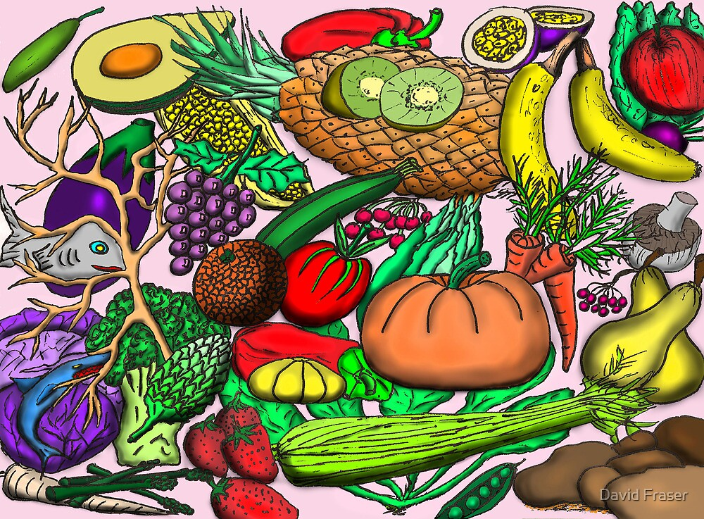 Food Glorious Food by David Fraser