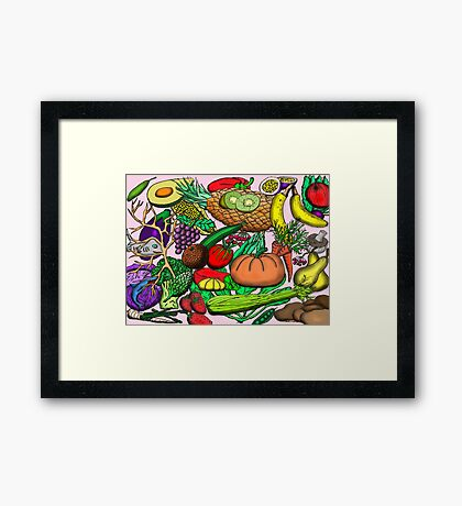 Food Glorious Food Framed Print