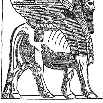 Khorsabad (lamassu) by Collective0013