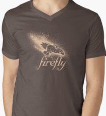 Firefly Silhouette Men's V-Neck T-Shirt