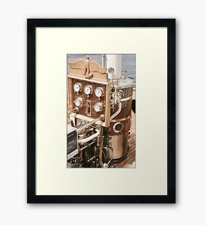 Steam Power Framed Print
