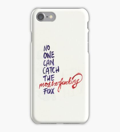 The Mothereffing Fox iPhone Case/Skin