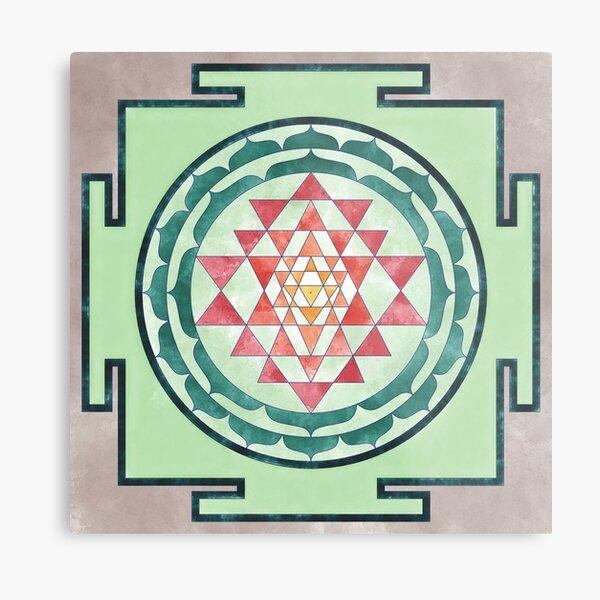 Sri Yantra 05 Metal Print