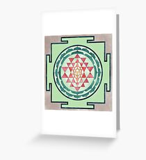 Sri Yantra 05 Greeting Card