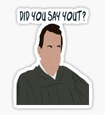 Did You Say Yout? Sticker
