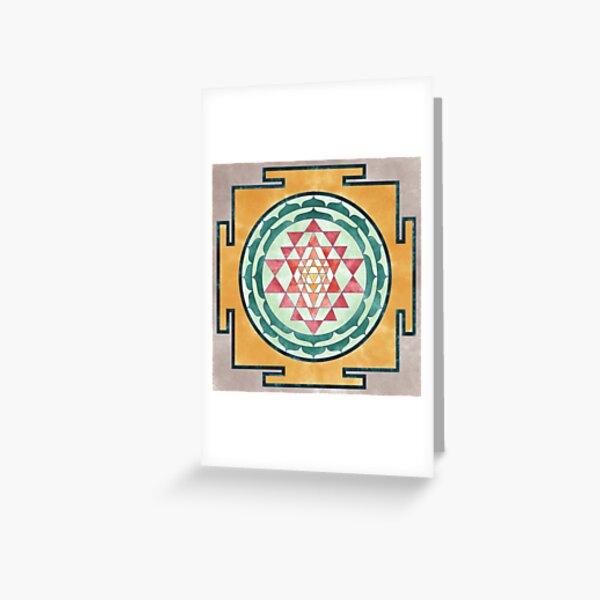 Sri Yantra 06 Greeting Card