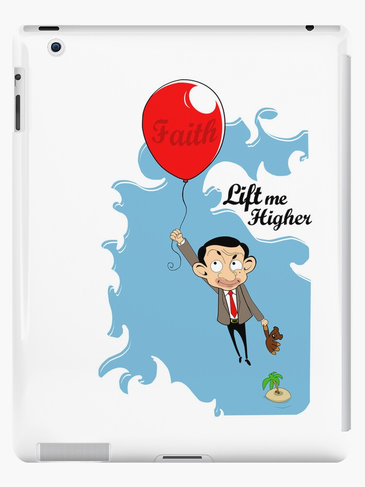 Mr. Bean in Faith Baloon by kikkawa