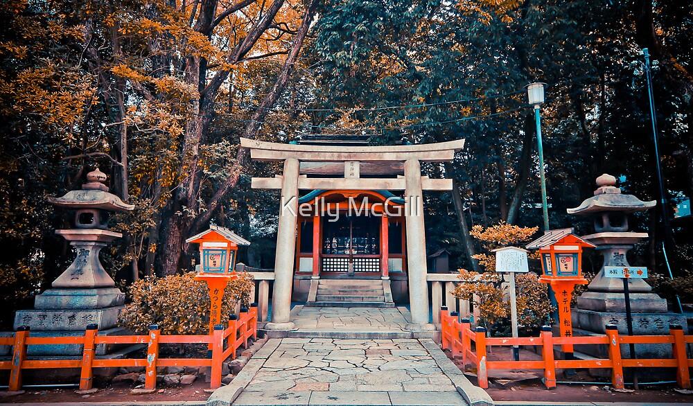 The Shrine, Kyoto by Kelly McGill
