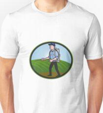 Fertilizer Sprayer Pump Spraying Cartoon Unisex T-Shirt