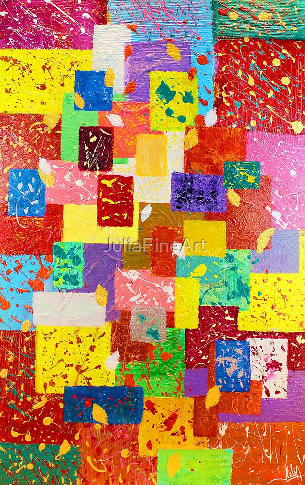 Contemporary Abstract  by JuliaFineArt
