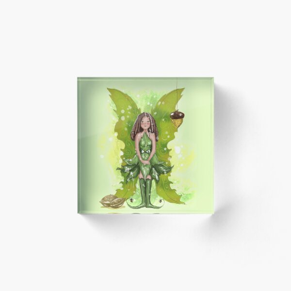 Aerenee The Forest Fairy™ Acrylic Block