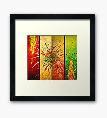 Contemporary Abstract Painting Framed Print