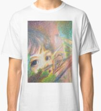 Anna In Grapes - Portrait Classic T-Shirt