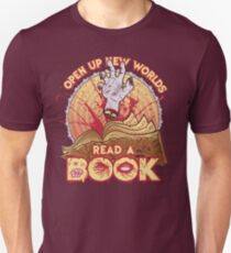Read a Damn'd Book Unisex T-Shirt