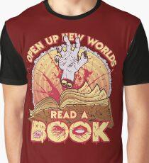 Read a Damn'd Book Graphic T-Shirt