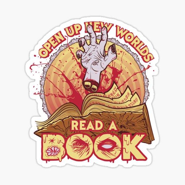 Read a Damn'd Book Sticker