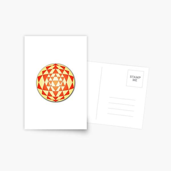 Sri Yantra 06 Postcard