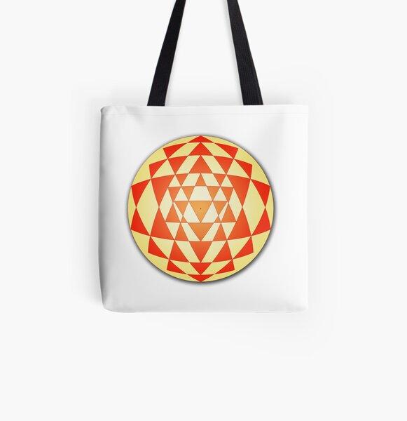 Sri Yantra 06 All Over Print Tote Bag
