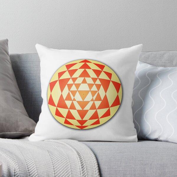Sri Yantra 06 Throw Pillow