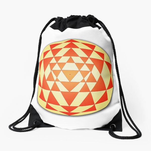 Sri Yantra 06 Drawstring Bag