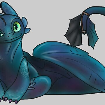 Toothless by RedeemerBobtail