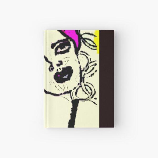 Mod Girl Dreaming Of Hair Removal Hardcover Journal