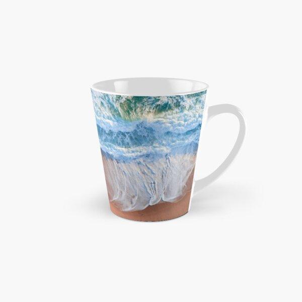 Beach Waves Ocean Waves Beach Sand Tall Mug