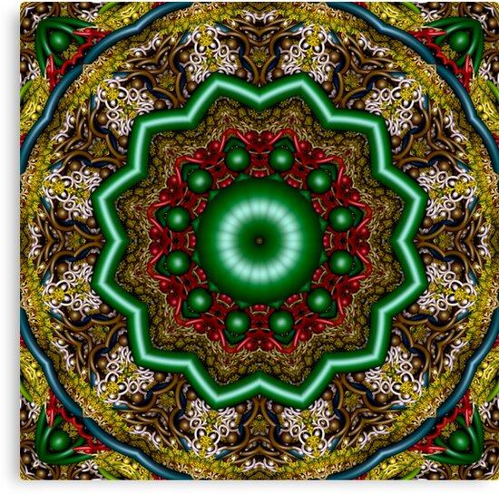 M3D: Vegetable Kaleidoscope (UF1133) by barrowda