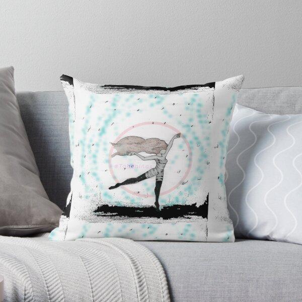 Pastel Longing Throw Pillow