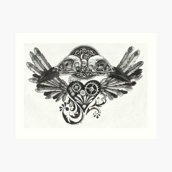 Ravenshead Art Print