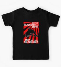 Protest the Taiji Dolphin Hunt 3 Kids Tee