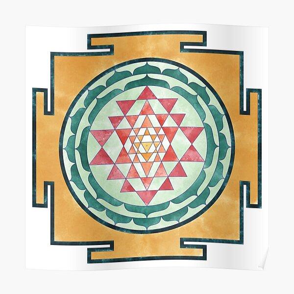 Sri Yantra 07 Poster