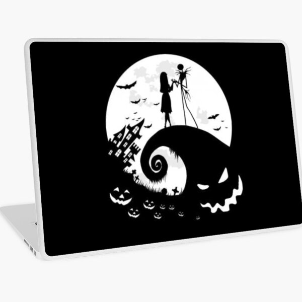 Nightmare before christmas ,Gift for a friend , Gift For Brother  Laptop Skin