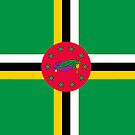 Dominica Flag by pjwuebker