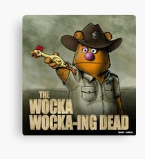 The Wocka Wocka-ing Dead Canvas Print
