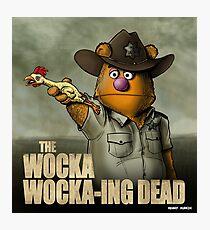 The Wocka Wocka-ing Dead Photographic Print