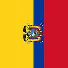 Ecuador Flag by pjwuebker