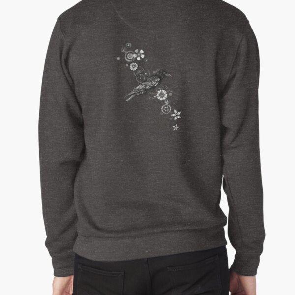 Clockwork Crow Pullover Sweatshirt