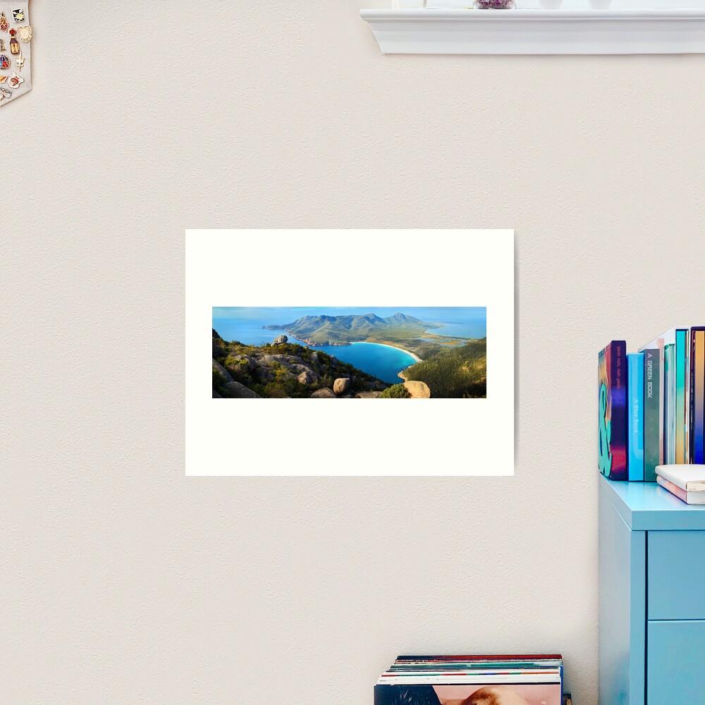 Wineglass Bay, Freycinet National Park, Tasmania Art Print