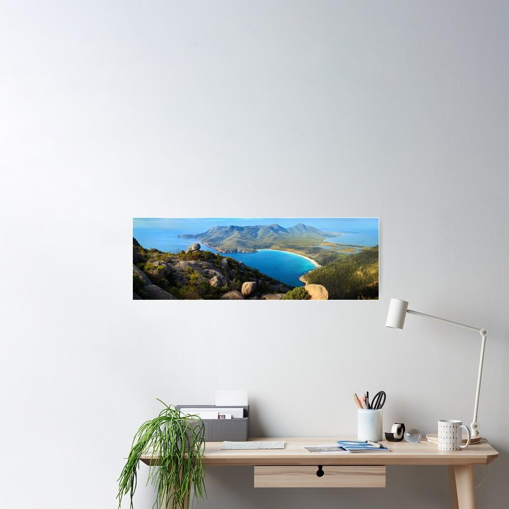 Wineglass Bay, Freycinet National Park, Tasmania Poster