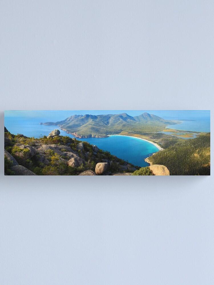 Alternate view of Wineglass Bay, Freycinet National Park, Tasmania Canvas Print