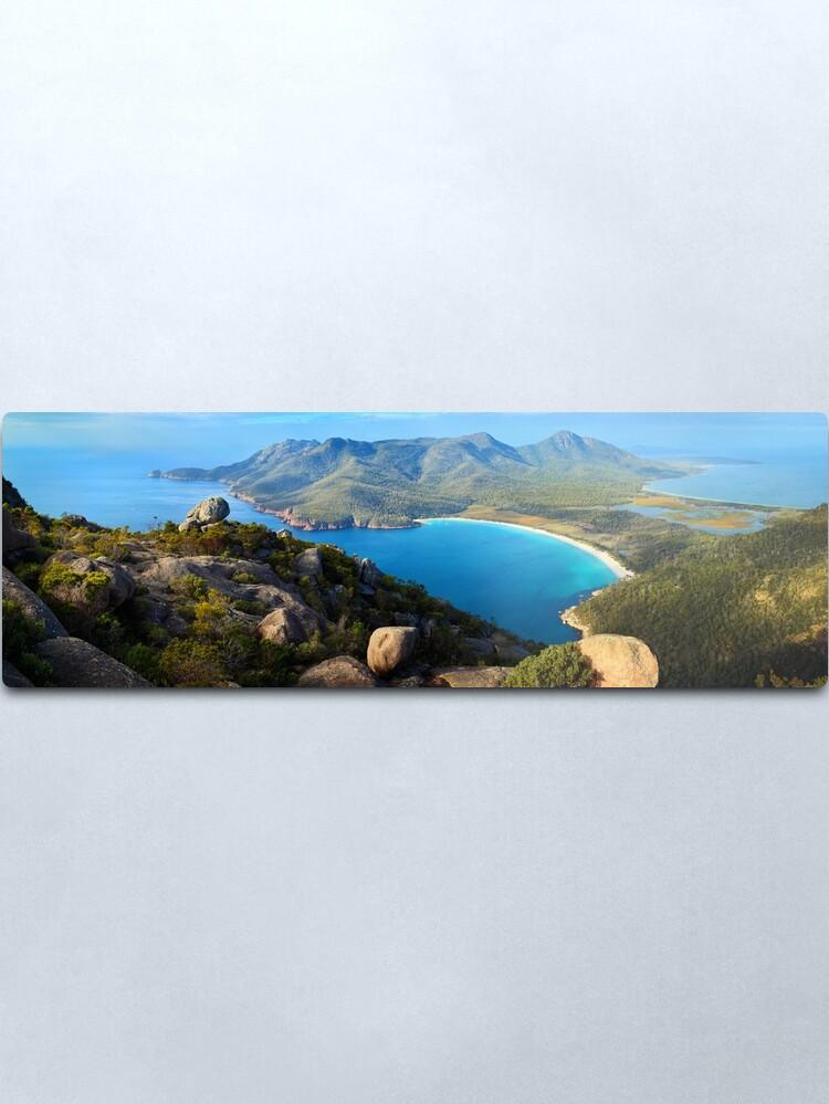 Alternate view of Wineglass Bay, Freycinet National Park, Tasmania Metal Print