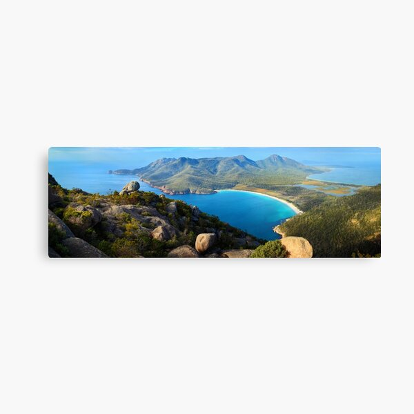 Wineglass Bay, Freycinet National Park, Tasmania Canvas Print