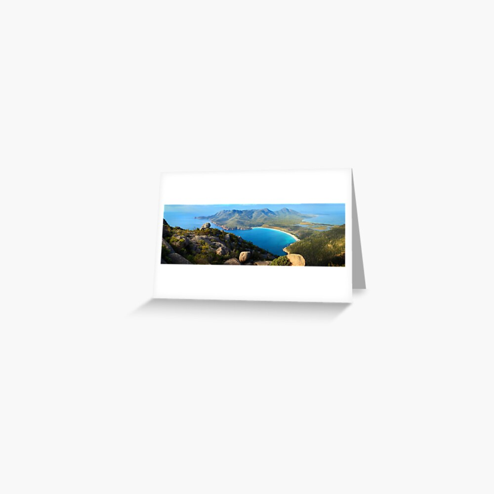 Wineglass Bay, Freycinet National Park, Tasmania Greeting Card