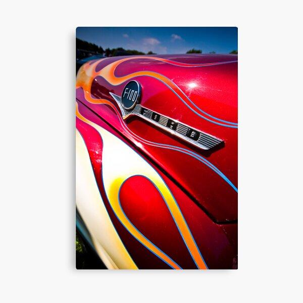 Ford F100 Canvas Print