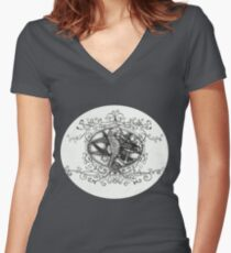 The seahorse Women's Fitted V-Neck T-Shirt