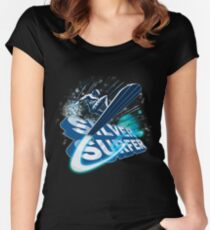 Silver Surfer Women's Fitted Scoop T-Shirt