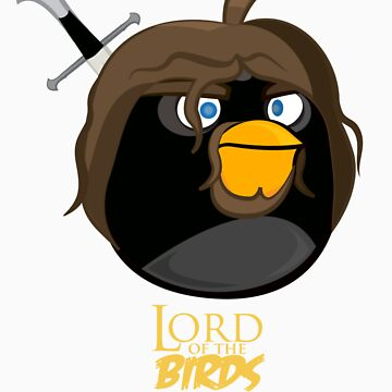 Lord of the Birds-Aragorn by IChooseYou